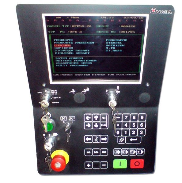 Amada HFE lcd display monitor