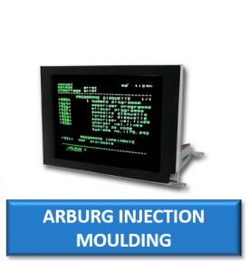 arburg injection moulding machine replacement monitor display screen crt lcd repair