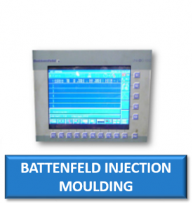 battenfeld injection moulding machine monitor display screen crt lcd replacement repair