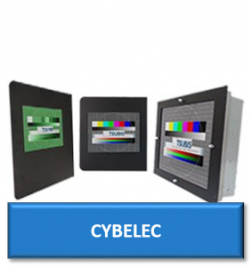 cybelec cnc replacement monitor display screen crt lcd