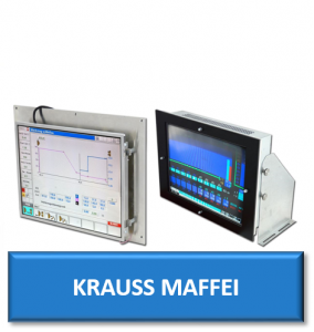 krauss maffei kraussmaffei injection moulding machine monitor display screen crt lcd