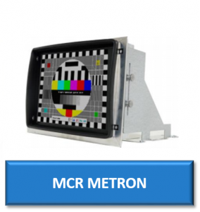 mcr metron cnc replacement monitor display screen crt lcd