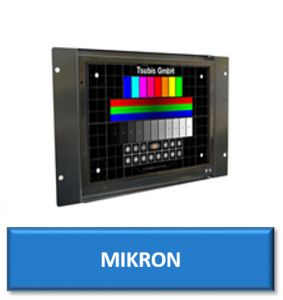mikron cnc replacement monitor display screen crt lcd