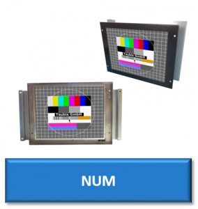 num cnc replacement monitor display screen crt lcd