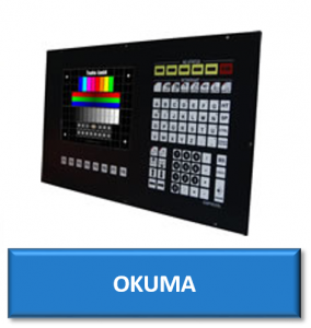 okuma cnc replacement monitor display screen crt lcd