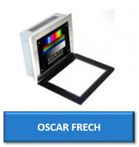 oscar frech cnc replacement monitor display screen crt lcd