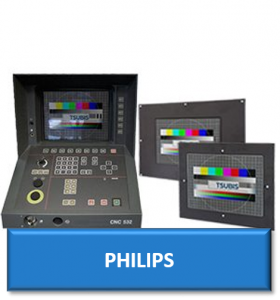 philips cnc replacement monitor display screen crt lcd